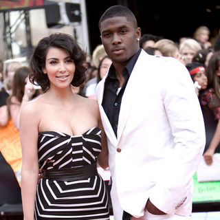 Kim Kardashian, Reggie Bush in 2009 MuchMusic Video Awards - Red Carpet Arrivals