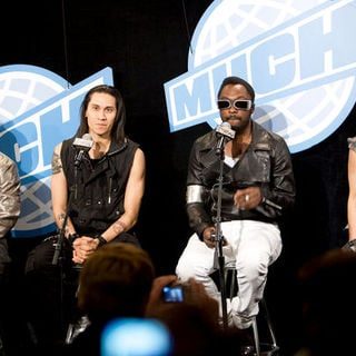 Black Eyed Peas in 2009 MuchMusic Video Awards - Press Room