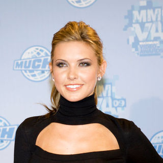 Audrina Patridge in 2009 MuchMusic Video Awards - Press Room