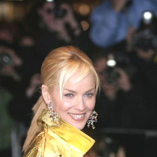 "Sharon Stone in Sony Pictures' premiere of ""Basic Instinct 2: Risk Addiction"""