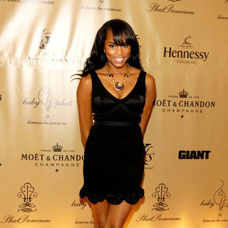 LeToya Luckett in Mercedes-Benz Fashion Week Spring 2009 - Baby Phat After Party - Arrivals