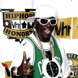 Flavor Flav in 5th Annual VH1 Hip Hop Honors - Arrivals