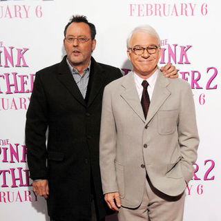 "Steve Martin, Jean Reno in ""The Pink Panther 2"" New York Premiere - Arrivals"