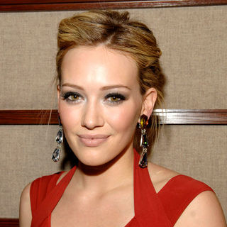 Hilary Duff in Mercedes-Benz Fashion Week Fall 2009 - Heart Truth's Red Dress Collection Fashion Show
