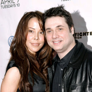 "Adam Ferrara, Alex Tyler in ""Rescue Me"" Season 5 New York City Premiere - Arrivals"
