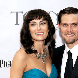 Laura Benanti, Stephen Pasquale in 63rd Annual Tony Awards - Arrivals