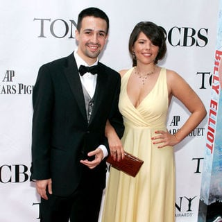 Lin-Manuel Miranda, Vanessa Nadal in 63rd Annual Tony Awards - Arrivals