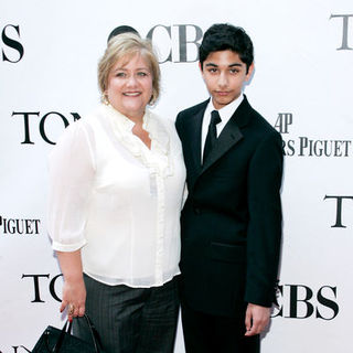 Lynn Indelicato, Mark Indelicato in 63rd Annual Tony Awards - Arrivals