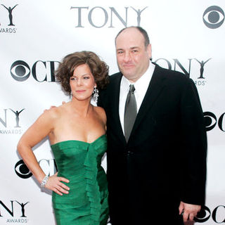 Marcia Gay Harden, James Gandolfini in 63rd Annual Tony Awards - Arrivals