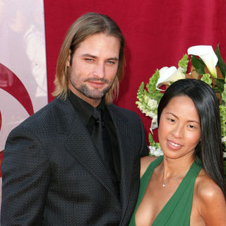 Josh Holloway, Yessica Kumala in 57th Annual Primetime Emmy Awards - Arrivals