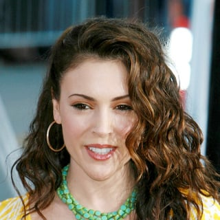 Alyssa Milano in The Break-Up World Premiere