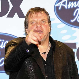 Meat Loaf in American Idol Season 5 Grand Finale - Press Room