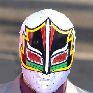 Mascarita Sagrada in Nacho Libre Premiere in Los Angeles
