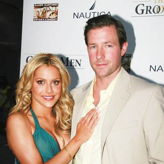 Edward Burns, Brittany Murphy in The Groomsmen Movie Premiere - Arrivals
