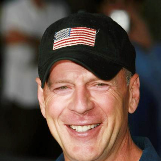 Bruce Willis in Talladega Nights The Ballad of Ricky Bobby Movie Premiere
