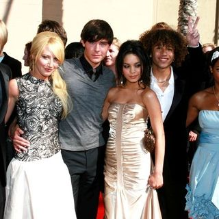 Zac Efron, Corbin Bleu, Ashley Tisdale, Vanessa Hudgens, Monique Coleman, Lucas Grabeel in 58th Annual Creative Arts Emmy Awards