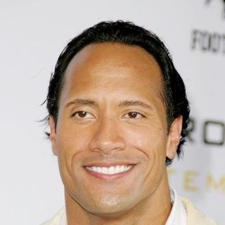 The Rock in Gridiron Gang Los Angeles Premiere