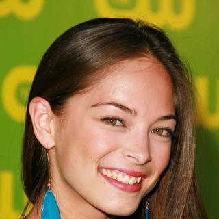 Kristin Kreuk in The CW Launch Party - Green Carpet