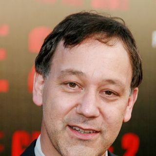 Sam Raimi in The Grudge 2 World Premiere