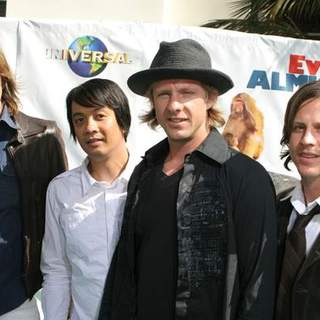 Switchfoot in Evan Almighty World Premiere - SGG-071482