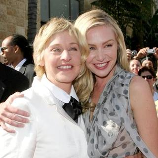 Ellen DeGeneres, Portia de Rossi in 34th Annual Daytime Emmy Awards - Arrivals