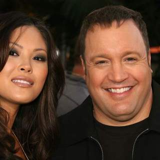 Kevin James, Steffiana De La Cruz in I Now Pronounce You Chuck And Larry World Premiere presented by Universal Pictures