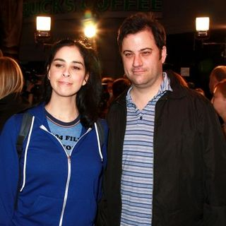 "Sarah Silverman, Jimmy Kimmel in ""Juno"" Los Angeles Premiere"