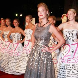"Katherine Heigl in ""27 Dresses"" Los Angeles Premiere - Arrivals"