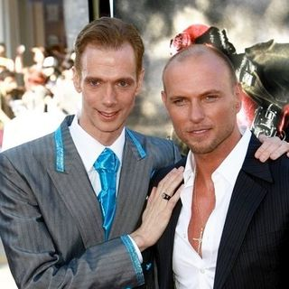 "Doug Jones, Luke Goss in 2008 Los Angeles Film Festival - ""Hellboy II: The Golden Army"" Premiere - Arrivals"