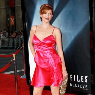 "Melinda McGraw in ""The X-Files - I Want to Believe"" Hollywood Premiere - Arrivals"