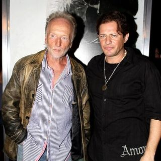 "Tobin Bell, Costas Mandylor in ""Saw V"" Los Angeles Premiere - Arrivals"