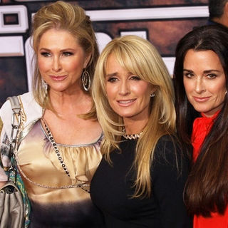 "Kathy Hilton, Kim Richards, Kyle Richards in ""Race to Witch Mountain"" Los Angeles Premiere - Arrivals"