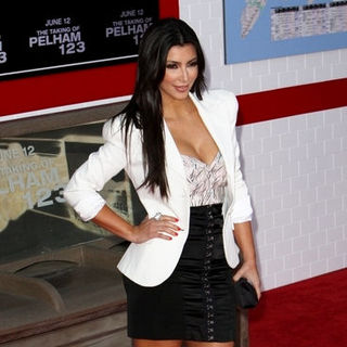 "Kim Kardashian in ""The Taking of Pelham 123"" Los Angeles Premiere - Arrivals"