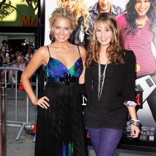 "Tiffany Thornton, Debby Ryan in ""Bandslam"" Los Angeles Premiere - Arrivals"
