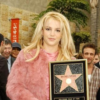 Britney Spears - Britney Spears Honored with a Star on the Hollywood Walk of Fame