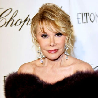 Joan Rivers in 13th Annual Elton John Aids Foundation In Style Oscar Party