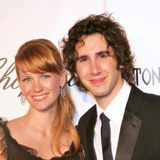 Josh Groban, January Jones in 13th Annual Elton John Aids Foundation In Style Oscar Party