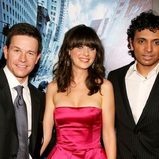 "Zooey Deschanel, Mark Wahlberg, M. Night Shyamalan in ""The Happening"" New York City Premiere - Arrivals"