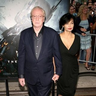 "Michael Caine, Shakira Caine in ""The Dark Knight"" World Premiere - Arrivals"