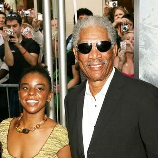 "Morgan Freeman in ""The Dark Knight"" World Premiere - Arrivals"