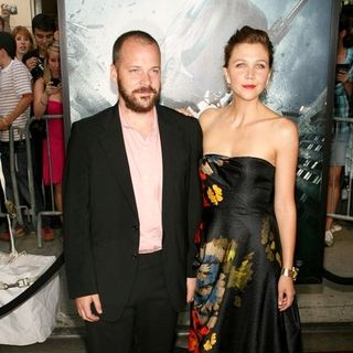 "Peter Sarsgaard, Maggie Gyllenhaal in ""The Dark Knight"" World Premiere - Arrivals"