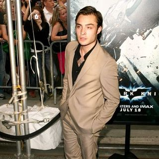 "Ed Westwick in ""The Dark Knight"" World Premiere - Arrivals"