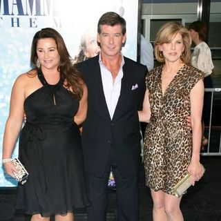 "Pierce Brosnan, Christine Baranski, Keely Shay-Smith in ""Mamma Mia!"" World Premiere - Arrivals"