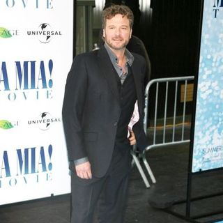 "Colin Firth in ""Mamma Mia!"" World Premiere - Arrivals"