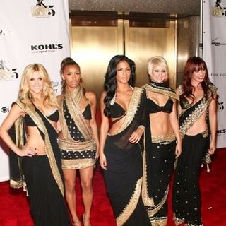 "The Pussycat Dolls in 5th Anniversary of Conde Nast Media Group's ""Fashion Rocks"" - Arrivals"
