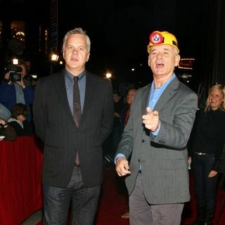 "Bill Murray, Tim Robbins in ""City of Ember"" New York City Premiere - Arrivals"