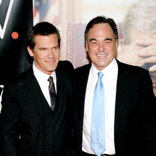 "Josh Brolin, Oliver Stone in ""W."" New York City Premiere - Arrivals"