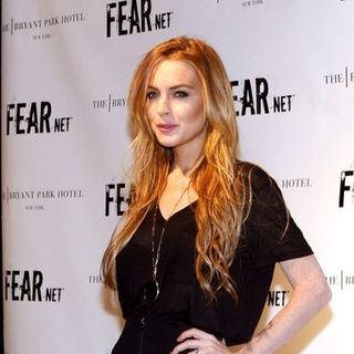 Lindsay Lohan - FEARnet's 2nd Anniversary Party - Arrivals