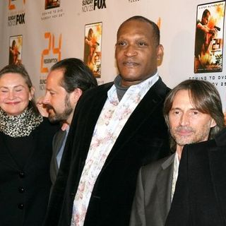 "Kiefer Sutherland, Jon Voight, Cherry Jones, Gil Bellows, Tony Todd, Robert Carlyle in ""24: Redemption"" New York Premiere - Arrivals"