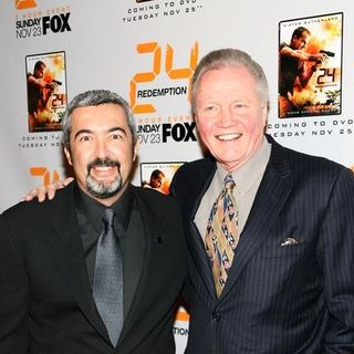 "Jon Voight, Jon Cassar in ""24: Redemption"" New York Premiere - Arrivals"